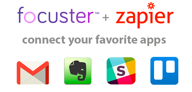 Focuster + Zapier: all your priorities in one place